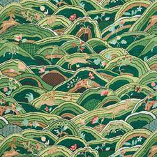 Green Decorator Fabric by Schumacher