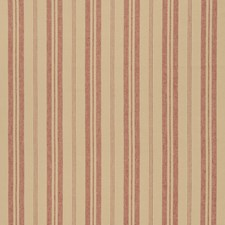 Rural Red Stripes Decorator Fabric by Fabricut