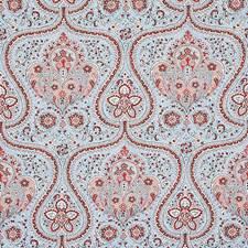 Sky/Rose Decorator Fabric by Schumacher