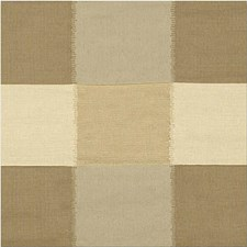 Beige Check Decorator Fabric by Kravet