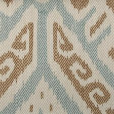Mint Ethnic Decorator Fabric by Highland Court