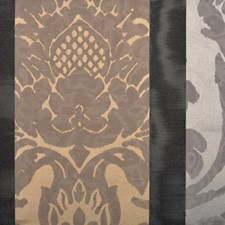Graphite Damask Decorator Fabric by Highland Court