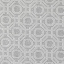 Platinum Geometric Decorator Fabric by Highland Court