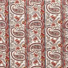 Melon Paisley Decorator Fabric by Fabricut