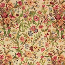 Cream Botanical Decorator Fabric by Lee Jofa