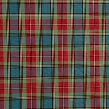 Scarlet Plaid Decorator Fabric by Lee Jofa