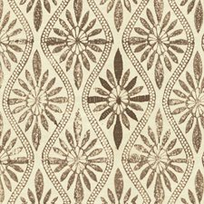 Walnut Botanical Decorator Fabric by Lee Jofa