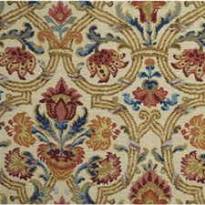 Ruby/Blue Botanical Decorator Fabric by Lee Jofa