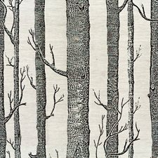 Onyx Botanical Decorator Fabric by Lee Jofa