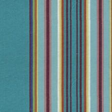 Blue/Purple/Multi Stripes Decorator Fabric by Lee Jofa
