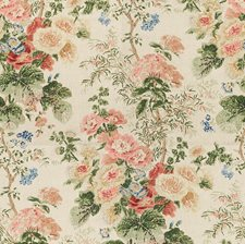Multi Botanical Decorator Fabric by Lee Jofa