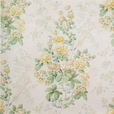 Yellow/Green Botanical Decorator Fabric by Lee Jofa