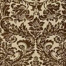 Chocolate Damask Decorator Fabric by Lee Jofa
