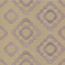 Lavender Geometric Decorator Fabric by Lee Jofa
