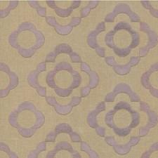 Lavender Geometric Decorator Fabric by Lee Jofa