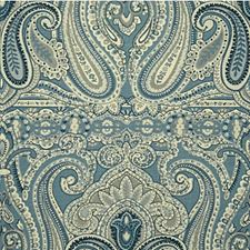 Blue/Dusk Paisley Decorator Fabric by Lee Jofa