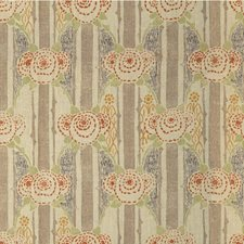 Purple/Spice Botanical Decorator Fabric by Lee Jofa