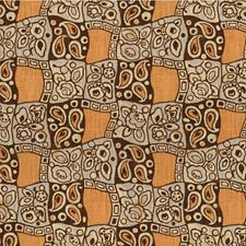 Whiskey/Brown Botanical Decorator Fabric by Lee Jofa