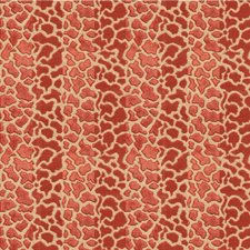 Red Modern Decorator Fabric by Lee Jofa