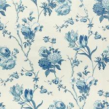 Blues Botanical Decorator Fabric by Lee Jofa