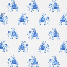 White/Beach Animal Decorator Fabric by Lee Jofa
