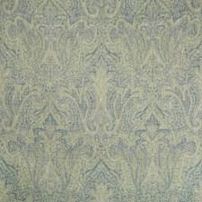 Jade/Navy Paisley Decorator Fabric by Lee Jofa