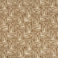 Brown Botanical Decorator Fabric by Lee Jofa