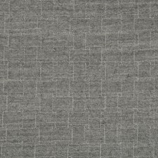 Grey Lattice Decorator Fabric by Lee Jofa