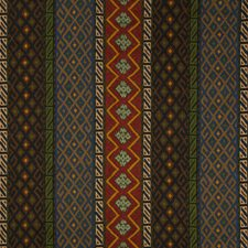 Blue/Multi Ethnic Decorator Fabric by Lee Jofa