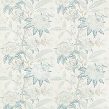 Frost Blue Botanical Decorator Fabric by Lee Jofa