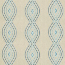 Sky Geometric Decorator Fabric by Lee Jofa