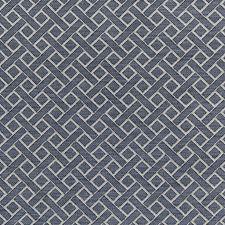 Navy Diamond Decorator Fabric by Lee Jofa