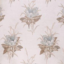 Lichen/Ecru Botanical Decorator Fabric by Lee Jofa