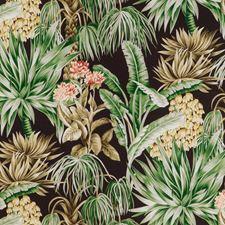 Espresso Botanical Decorator Fabric by Lee Jofa