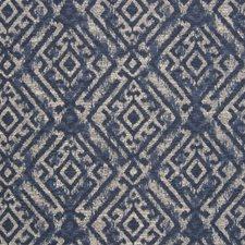 Indigo Southwest Lodge Decorator Fabric by Greenhouse