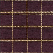 Purple/Yellow Plaid Decorator Fabric by Kravet