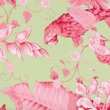 Rose/green Decorator Fabric by Duralee