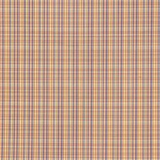Purple/Yellow/Light Green Plaid Decorator Fabric by Kravet