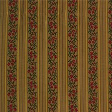 Beige/Yellow/Burgundy Botanical Decorator Fabric by Kravet