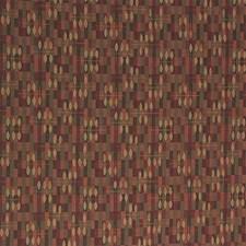 Green/Rust/Yellow Modern Decorator Fabric by Kravet