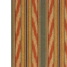 Beige/Orange/Rust Stripes Decorator Fabric by Kravet