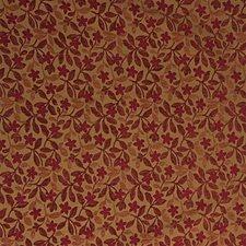 Yellow/Rust Botanical Decorator Fabric by Kravet