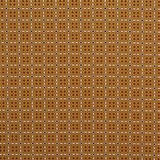 Gold/Ca Small Scales Decorator Fabric by Groundworks