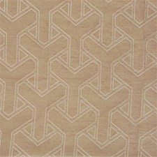 Straw Geometric Decorator Fabric by Lee Jofa