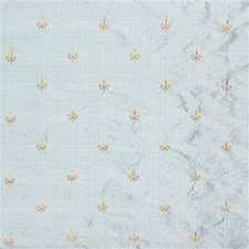 Light Blue/Yellow Small Scales Decorator Fabric by Kravet