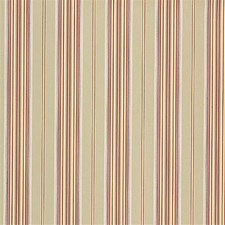 Light Green/Burgundy/Red Stripes Decorator Fabric by Kravet