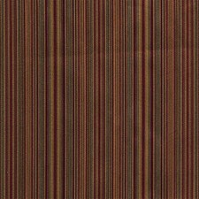 Burgundy/Red/Yellow Stripes Decorator Fabric by Kravet