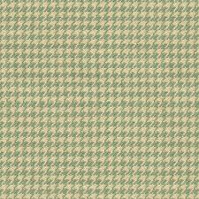 White/Light Blue Check Decorator Fabric by Kravet
