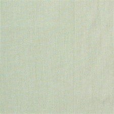 Light Green/White Stripes Decorator Fabric by Kravet