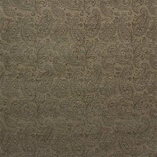 Green/Beige Paisley Decorator Fabric by Kravet